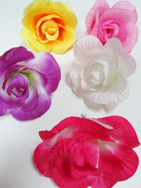 Искусственный цветок розы своими руками