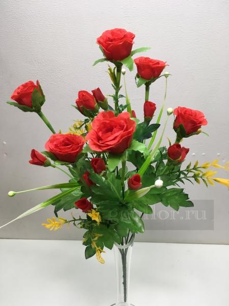 Букет роз кустовых, 7 в