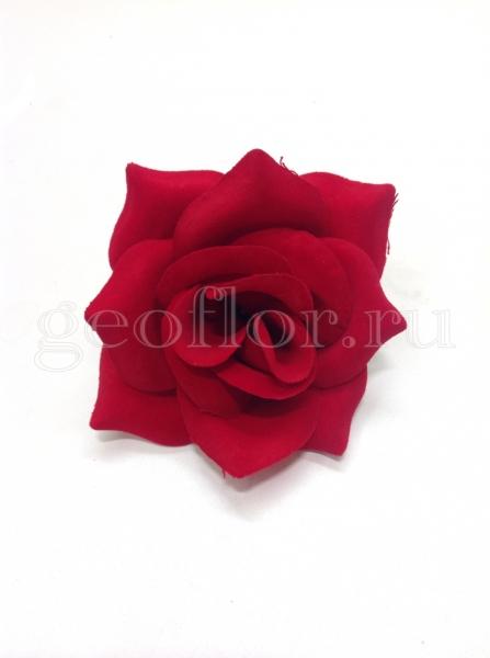 Гол. роза бархатная, d=15 см