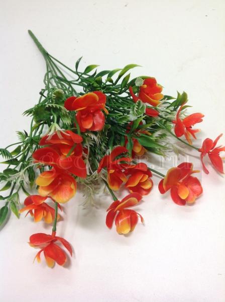 Букет орхидей, пластик, 5 в, 15 г