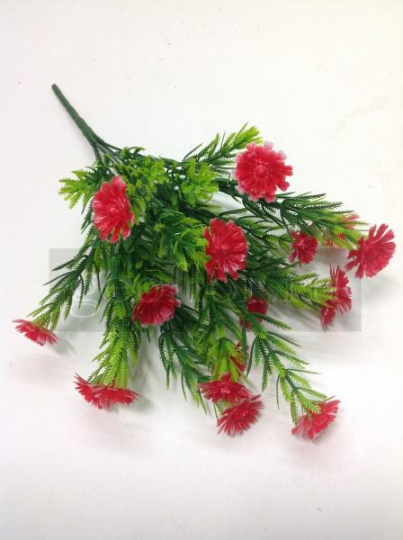 Букет мох, пластик, 6 в, 18 г