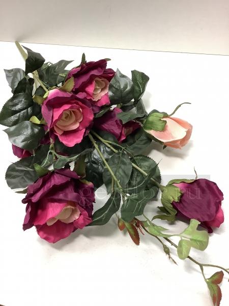 Букет роз с бутонами, 7 г
