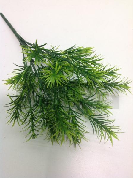 Букет хвойный, зеленый, пластик, 7 в