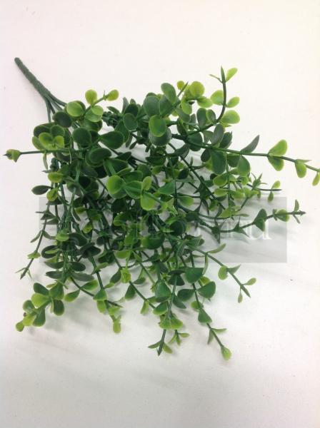 Букет эвкалипта, зеленый, пластик, 7 в