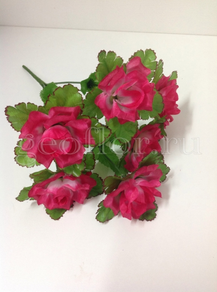 Букет роз с розеткой, 6 г