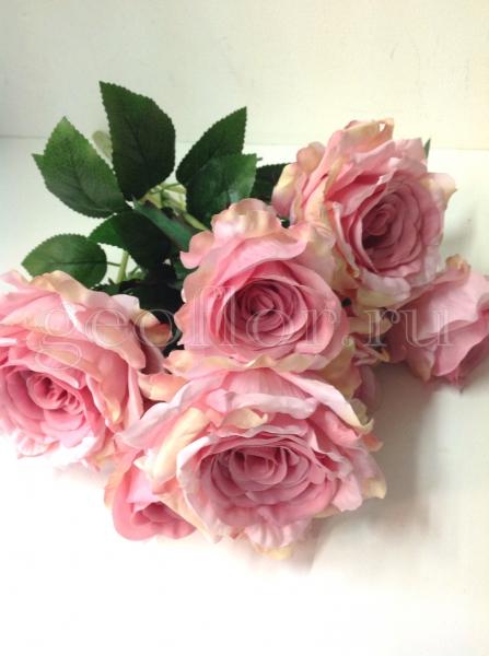 Букет роз пионовидных, 7 г