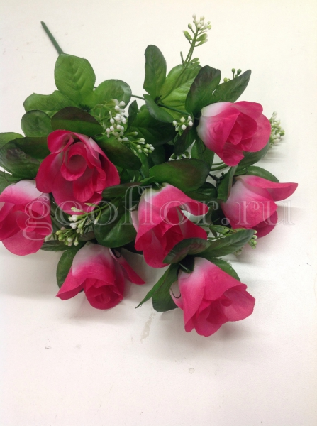 Букет роз с розеткой, 7 г