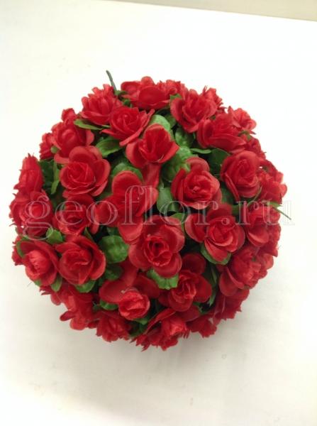 Композиция шар «Розы»