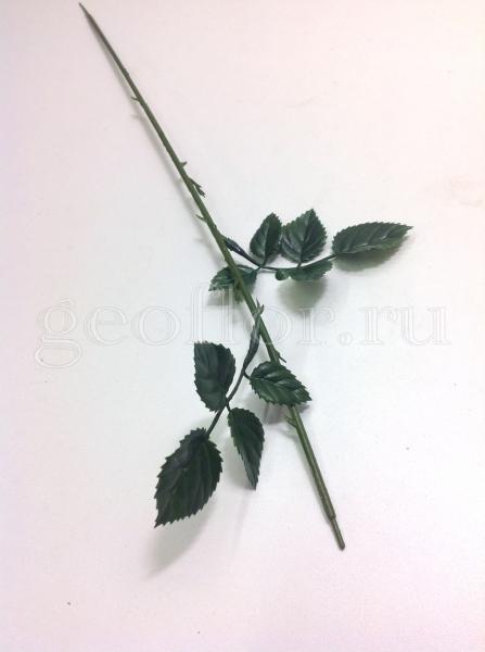 Ножка для розы с 2 л, пластик, 45 см
