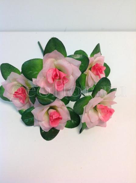 Букет роз с розеткой, 5 г