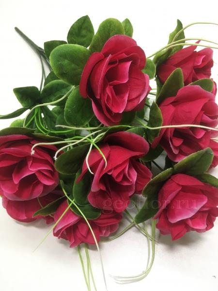 Букет роз с розеткой, 9 г