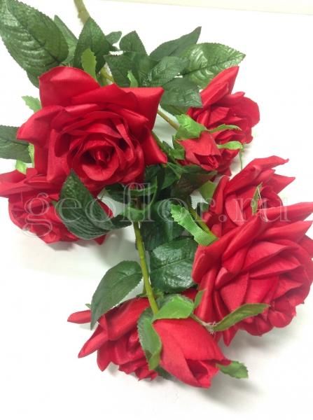 Букет роз, 6 г+2 б