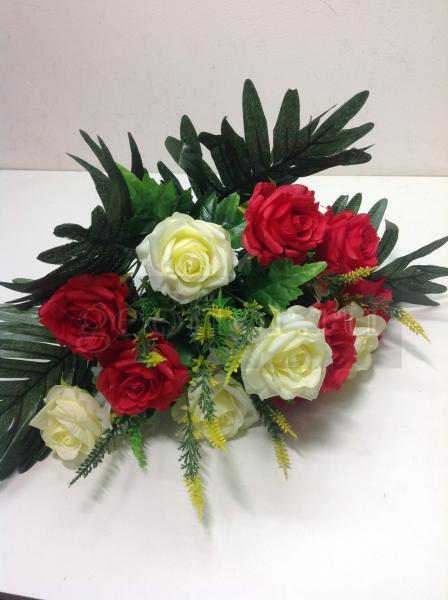 Букет роз двухцветных, 23 в