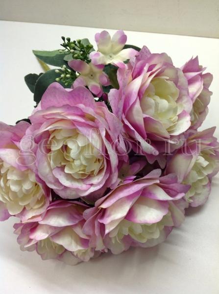 Букет роз пионовидных, 11 в