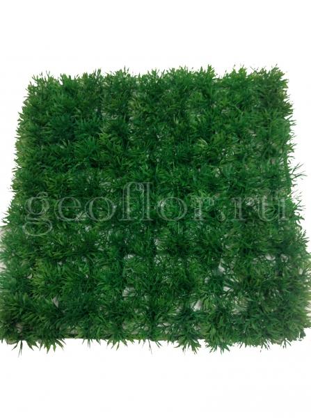 Искусственный газон, аспарагус, 25х25 см