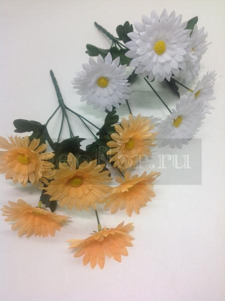 Букет ромашек белых и желтых, 6 г