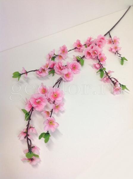 Ветка сакуры (розовая и белая)